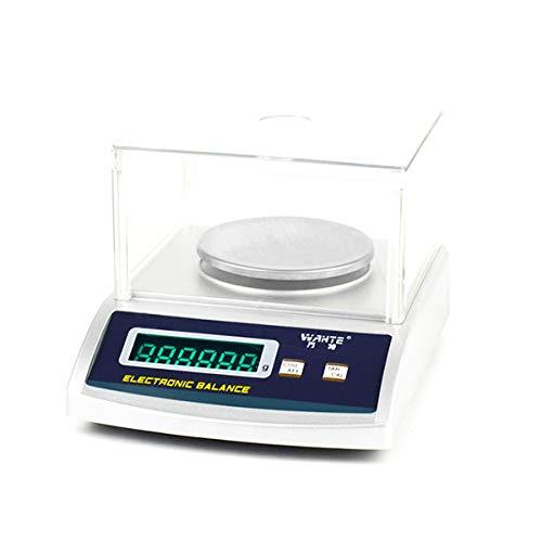 YZSHOUSE Oksmsa Balanza Electrónica para Oro Joyería Peso Balanza De Plataforma Laboratorio Electrónico Balanza 0.01g Preciso Escala De Banco (Size : 200/0.01g)