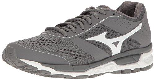 Mizuno Women's Synchro mx Softball Shoe, Grey/White, 8 D US