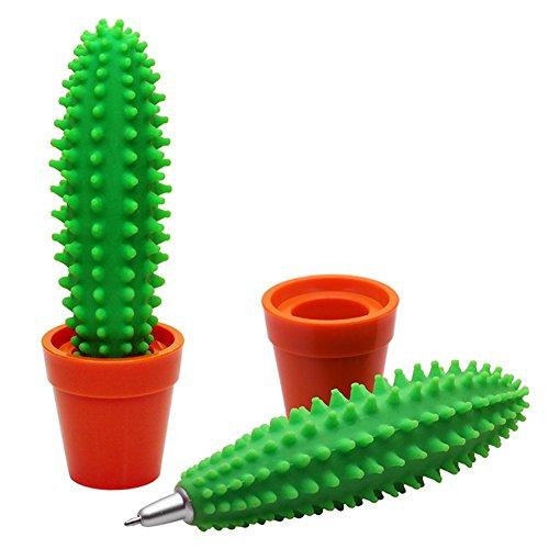Cosanter Kreative Kaktus Kugelschreiber und Eingabestift Schule Desktop-Lieferungen