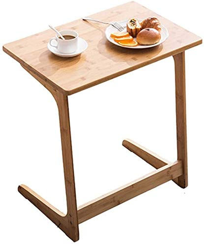 WANGLX Side Table Tv Trays for Eating Table, Coffee Tables Sofa Side Table Mini Square Table Bedside Table Tabletop Adjustable