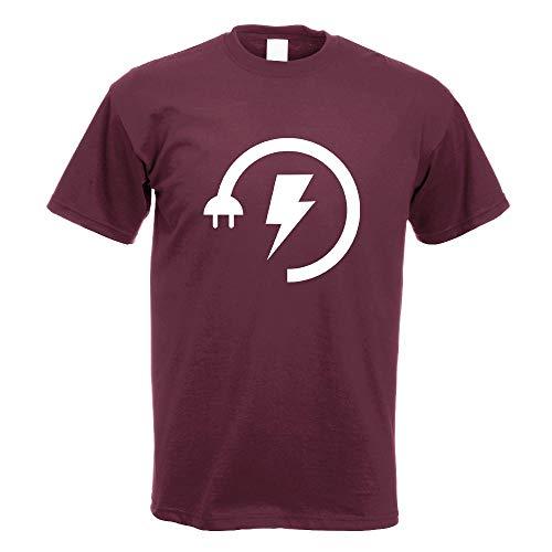 Energy Low - Electricity Boost T-Shirt Motiv Bedruckt Funshirt Design Print