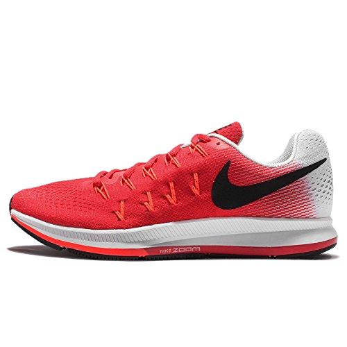 Nike Air Zoom Pegasus 33 - Zapatillas de running para hombre, color rojo (actn rd / blk-pr pltnm-ttl crmsn), talla 48 1/2