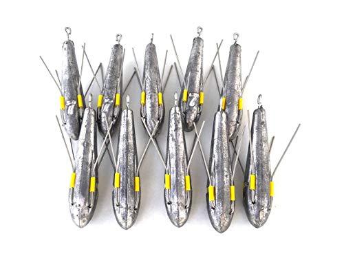 4-18 g Croch Juego de 25 Bolas de Plomo para Pesca de Peces de Goma