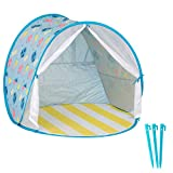Babymoov Anti-UV Beach Tent | UPF 50+ Sun Protection with Pop Up System for Easy Use and Travel