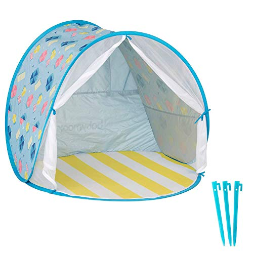 Babymoov AntiUV Beach Tent | UPF 50 Sun Protection with Pop Up System for Easy Use and Travel