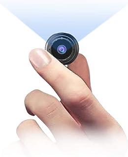 MHDYT Mini Camara Espia Oculta, 1080P HD Micro Camara Vigilancia Grabadora de Video Portátil con IR Visión Nocturna Detect...