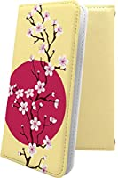 Xperia XZ Premium SO-04J ケース 手帳型 花柄 花 フラワー サクラ 桜 小桜 夜桜 エクスペリア プレミアム 和柄 和風 日本 japan 和 xperiaxz so04j おしゃれ 10545-3dwdsk-10001478-xperiaxz so04j