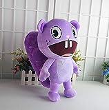 N-R Stuffed Toys Happy Tree Friends Plush Dolls Anime HTF Flippy Plush Toys Soft Die Toothy 38CM