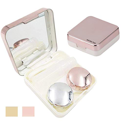 Contact Lens Case – Portable Contact Lens Kit for Travel & Home