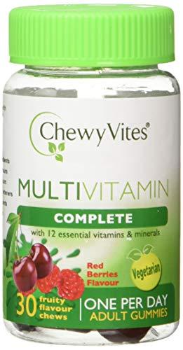 Chewy Vites Adults Multivitamin Complete Berries 30 Gummies