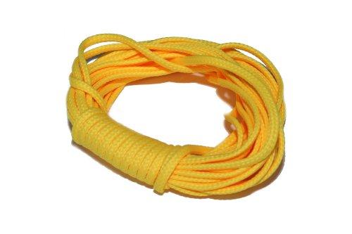 dalipo 33001 - Kordeln, Schnur 2mm, gelb