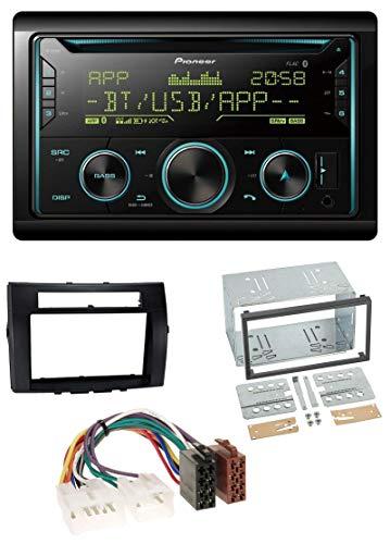 caraudio24 Pioneer FH-S720BT Bluetooth 2DIN CD AUX USB MP3 Autoradio für Toyota Corolla 04-09 Verso schwarz