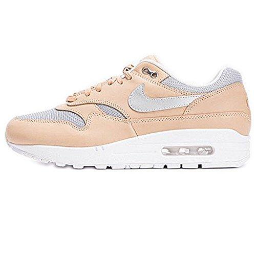 Nike Sportswear Damen Sneaker Air Max 1 SE PRM Silber (12) 39