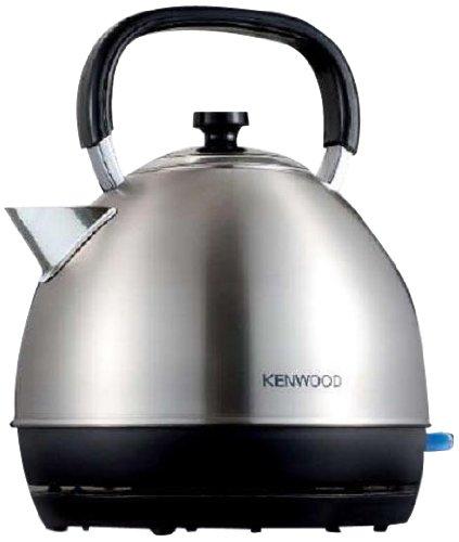 Kenwood SKM110 Hervidor, 2200 W, 1.6 Litros, Acero Inoxidable, Plateado/Negro