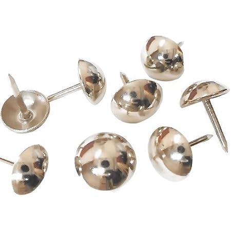 Decorative Nails 250 Pcs Furniture Pins Matt Black DX0595MBL Head Size : 3//8 Upholstery Tacks Decotacks