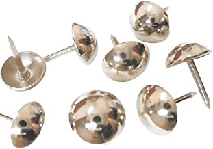 decotacks Silver Finish Upholstery Nails/tacks 7/16in - 500 Pcs [Nickel/Silver Finish] DX0511-500