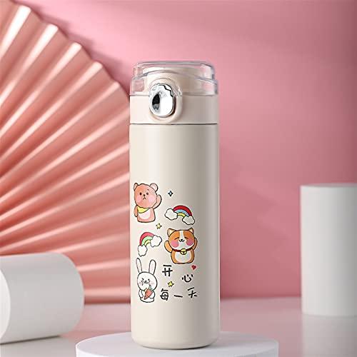 ERTERT Frasco de vacío de Acero Inoxidable Café de té Milk Leche de Viaje Taza de Agua Botella de Agua Thermos aislada Copa (Capacity : 300mL, Color : 1)