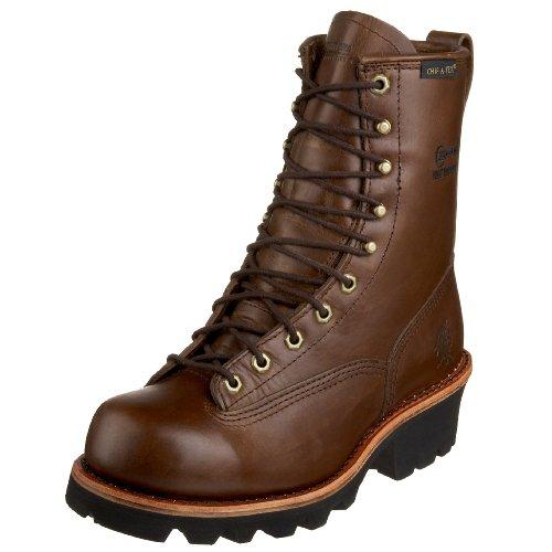 Chippewa Men's 73100 Lace-To-Toe Logger Boot,Bay Apache,9.5 M US
