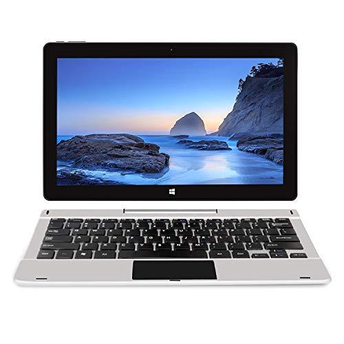 Jumper 11,6 Zoll Touchscreen Notebook 2-in-1Tablet Windows 10 Laptop, 6 GB RAM 64 GB ROM, MicroSD Slot, erweiterbar bis zu 128GB, Tablet abnehmbare Tastatur, Mini HDMI, Bluetooth, USB3.0, WLAN