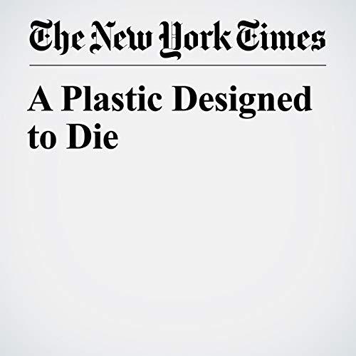 A Plastic Designed to Die copertina