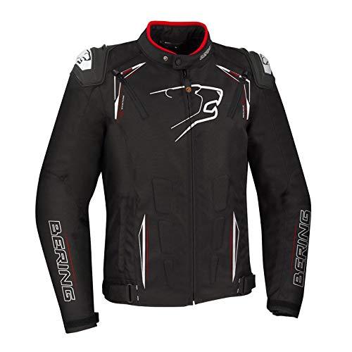 Bering Start-R - Chaqueta para moto, color negro