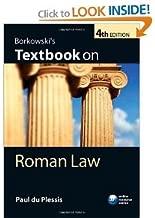 Borkowski's Textbook on Roman Law. 4th(forth edition).