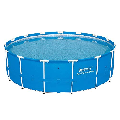 Bestway 12752E Power Steel Above Ground Pool, 15-Feet by 48-inch