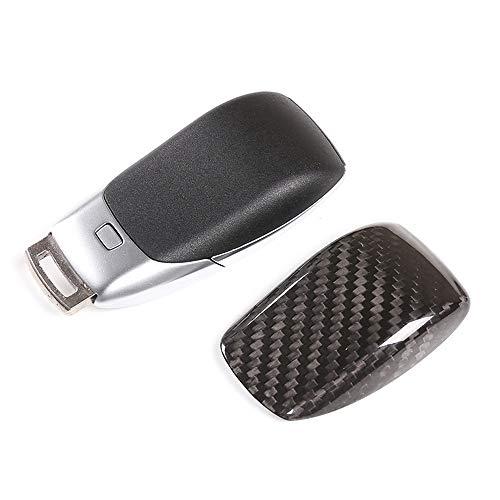 , pour la Couverture de décoration de Coque de Protection de clé de Voiture en Fiber de Carbone véritable , pour Mercedes-Benz A/C/E/S/GLE/G Classe W167 W177 W205 W213 W222 W463