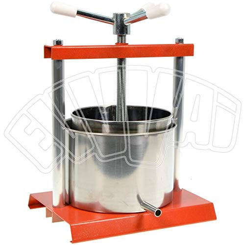 COOK CASE BY OMAC 340 Torchietto, Diametro 20 cm, Acciaio, Stainless Steel, Arancione