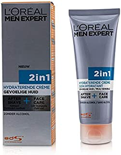 L'Oreal Men Expert Face Creme 2-in-1 After Shave + Face Care 75ml/2.5oz