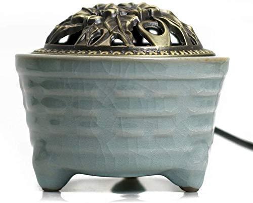 Barm Quemador de Incienso eléctrico de cerámica, Control de Temperatura de sincronización,...