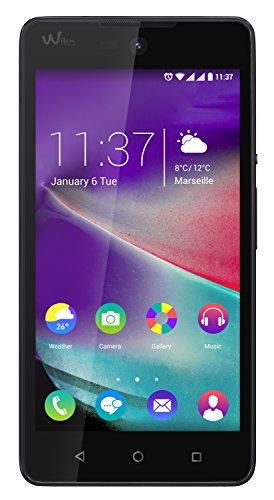 Wiko Rainbow Lite 4G Smartphone ohne SIM-Lock, Android, 5-Zoll-Display (12,7cm), 5-MP-Kamera, 4GB, Quad-Core 1,1 GHz, 1GB RAM