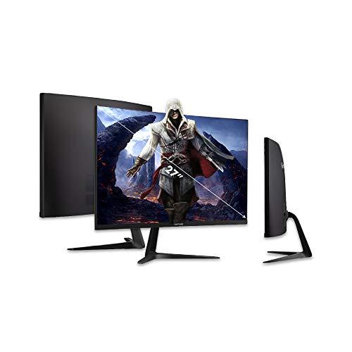 Viewsonic VX2718-PC-MHD 68,6 cm (27 Zoll) Curved Gaming Monitor (Full-HD, Adaptive Sync, 1 ms, 165 Hz, HDMI, DP, geringer Input Lag, Lautsprecher) Schwarz