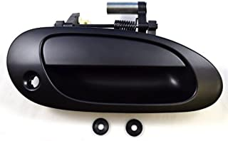 PT Auto Warehouse AC-3101P-FR - Outside Exterior Outer Door Handle, Primed Black - Passenger Side