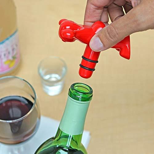 Happy man novelty bottle stopper