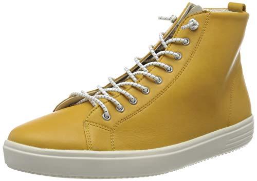 Remonte Damen D1470 Hohe Sneaker, Gelb (Gelb 68), 43 EU