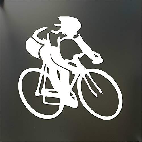 Auto Aufkleber Auto Aufkleber Radfahren Aufkleber Rennrad Schwimmen Laufen Ironman Triathlon Autofenster oder Stoßstange Heckscheibe Auto Aufkleber