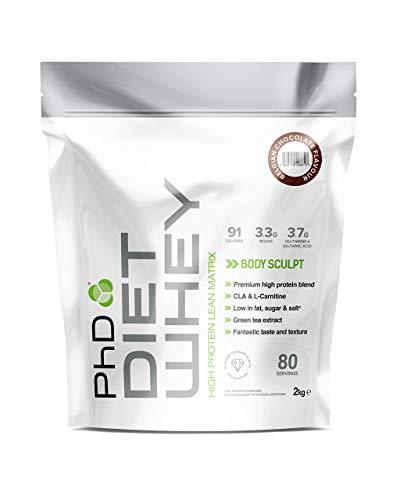 PhD Nutrition Diet Whey Protein Powder, Belgian...