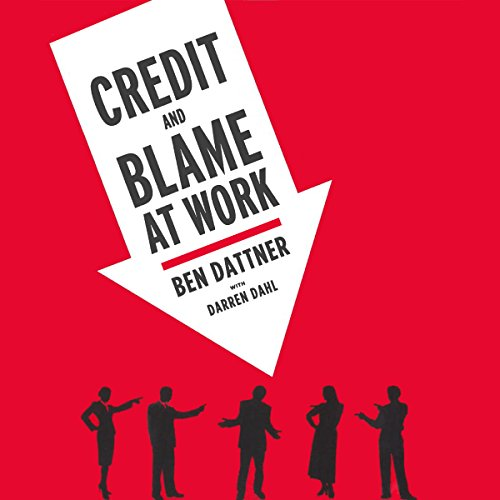 Credit and Blame at Work audiobook cover art