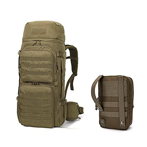 Mardingtop 55 litros mochilas de trekking tácticas para adultos de senderismo al aire