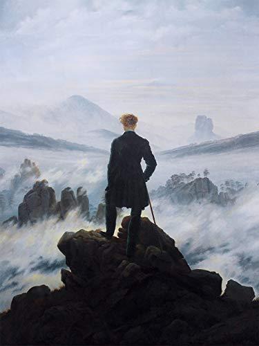 Bilderdepot24 selbstklebende Fototapete Caspar David Friedrich - Alte Meister