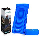 SereneLife Backpacking Air Mattress Sleeping Pad