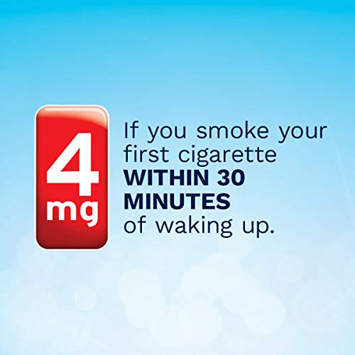 Nicorette 4mg Nicotine Lozenges to Quit Smoking - Ice Mint Flavored Stop Smoking Aid, 80 Count