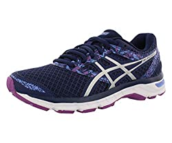 commercial ASICS Ladies Gel Excite 4 Sneakers, Indigo Blue / Indigo Blue / Orchid, 8 M US beginners running shoes get going