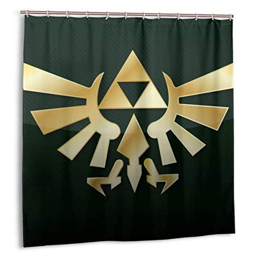 NR Anime The Legend of Zelda Duschvorhang Liner Wasserdicht Polyester Bad Duschvorhang Duschvorhang 12 Haken