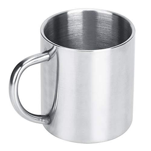 Taza de agua, taza de té de café de acero inoxidable de do