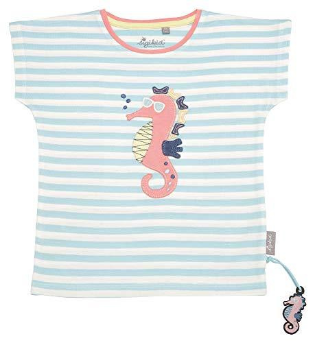 Sigikid Mädchen, Mini T-Shirt, Türkis (Aquatic 565), (Herstellergröße: 116)