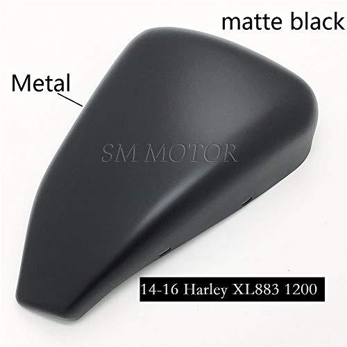 Tapa de la batería del lado izquierdo negro mate para 14-17 Harley Sportster 883 tapa de la batería xl1200 48 72