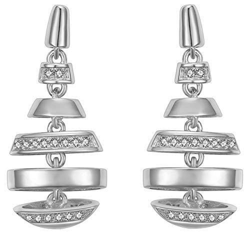IUN Silver Couture Ohrringe New Wave Silber 925 Zirkonia ES01136A1-WW