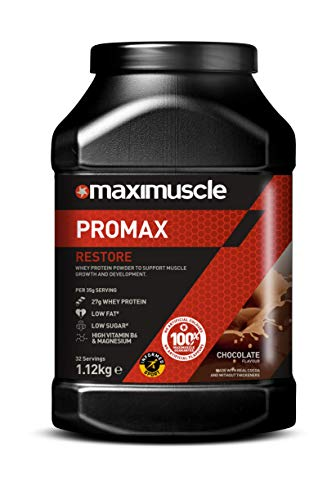 Maximuscle Promax Powder Chocolate Flavour,1.12 kg